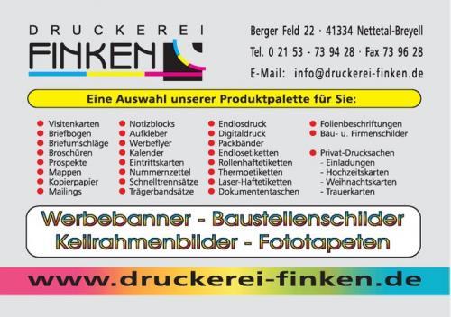 Druckerei Finken
