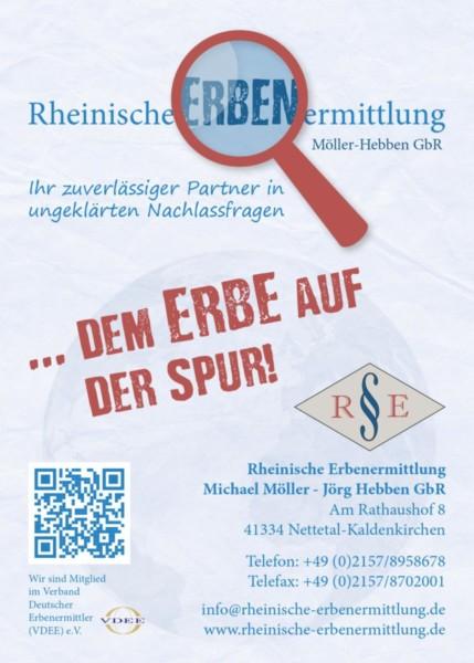 Rheinische Erben Ermittlung