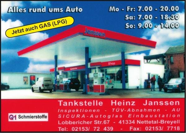 Tankstelle Janssen